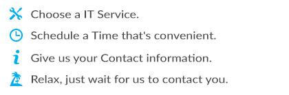 IT Services Schedule Services