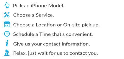 iPhone Schedule Service