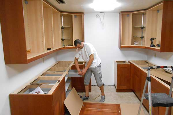 Cabinet Installation | Cabinets and Countertops Service
