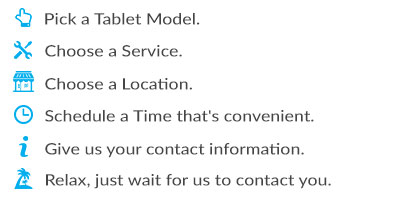 Schedule Tablet Repair