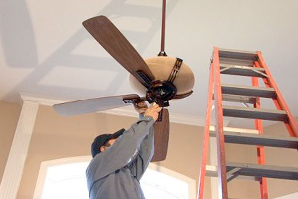 Ceiling Fan Install | Handyman Projects
