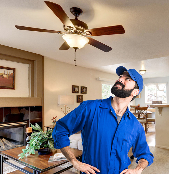 Respectable Pros | Ceiling Fan Installation in Chicago IL