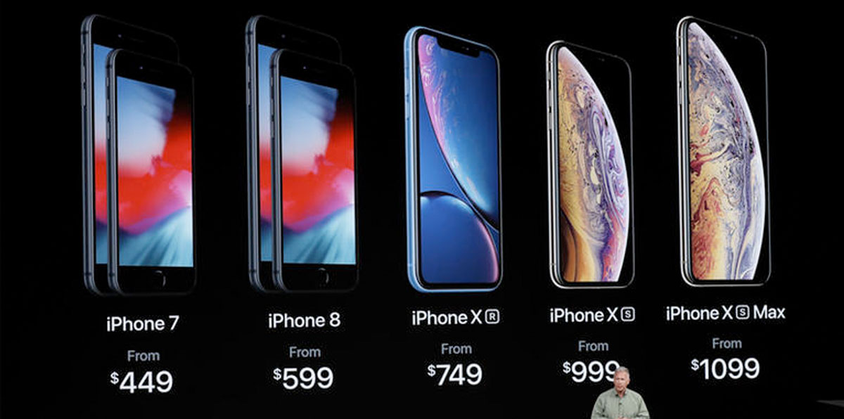 Prices of iPhones 2018 | Apple iPhone XS vs XS Max vs XR